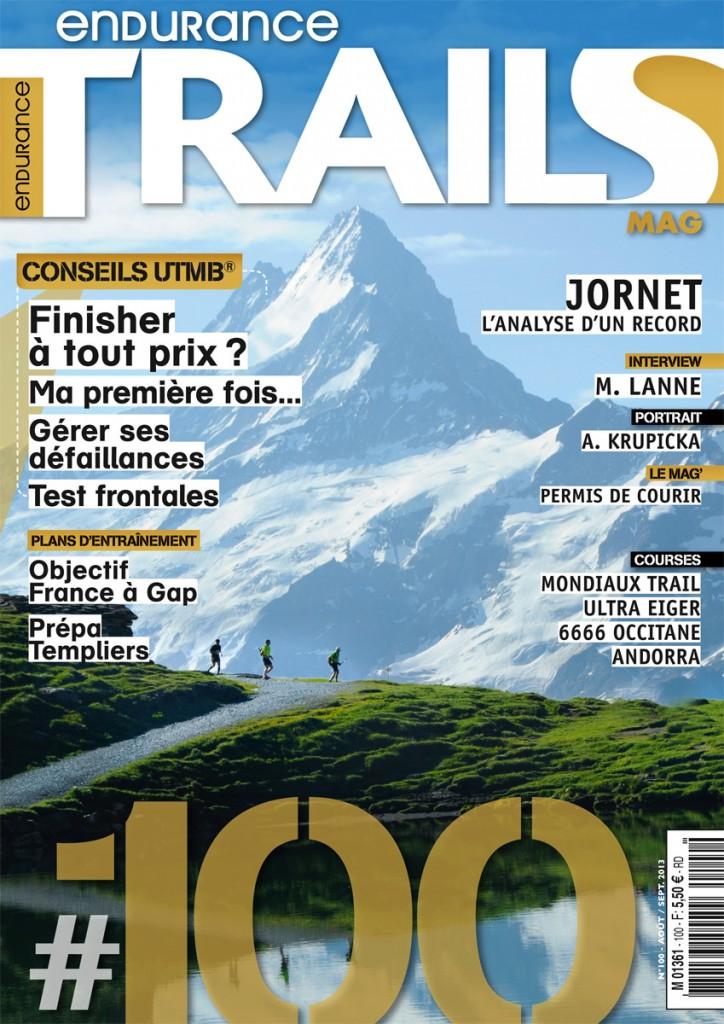 Couv. Trails Endurance Mag N°100