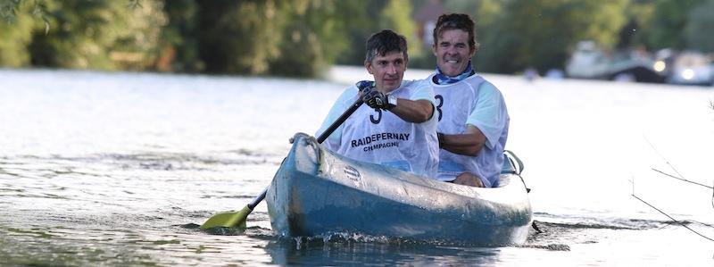 Raid Epernay - canoe