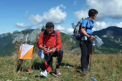 Raid orientation en montagne
