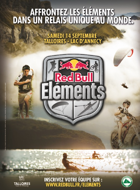 Affiche red bull elemnts 2013