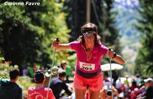 Corinne Favre termine 3ème du KV de Fully 2013