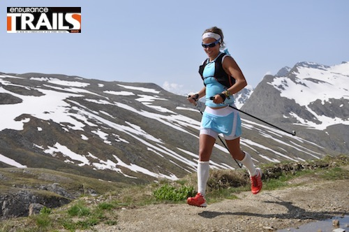 Emelie Forsberg (Salomon), termine 2nde des World Sky Series 2013