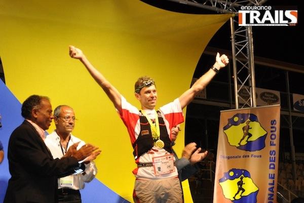 Francois D'Haene, vainqueur du GRR 2013
