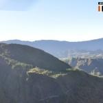 Paysage au dessus de Cilaos
