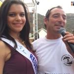 Ludo Collet avec miss Réunion