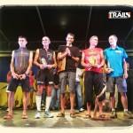 Le podium hommes du GRR 2013