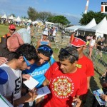 Grand Raid de la Réunion 2013 - dédicace par k. Jornet