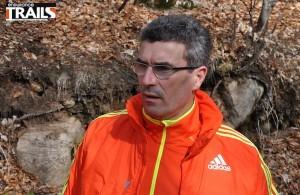 Olivier Gui, manager du team Adidas Trail