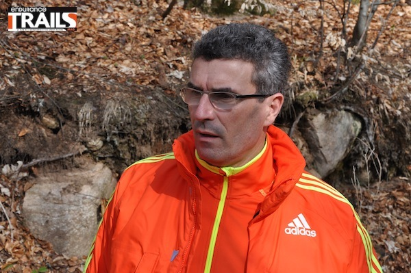 Olivier Gui, manager du team Adidas Trail
