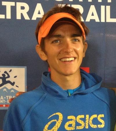Xavier Thevenard - vainqueur UTMB 2013