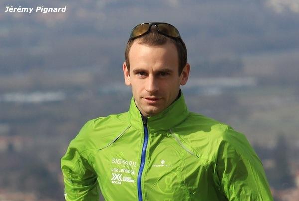 Jérémy Pignard prêt pour la Saintélyon 2013