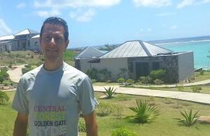 Julien Chorier au trail de Rodrigues 2013