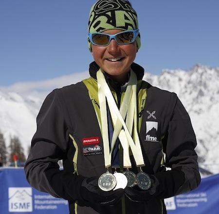 Matheo Jacquemoud, parrain des Dynafit Ski Touring Courchevel 2013/2014