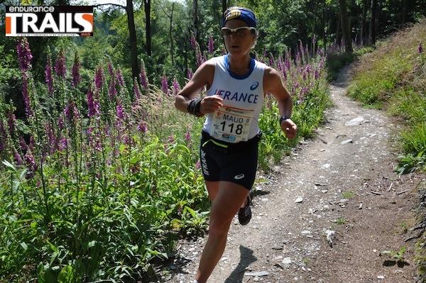 Maud Gobert - Championne du Monde de Trail 2011