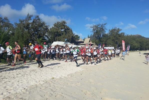 Départ du Trail de Rodrigues 2013