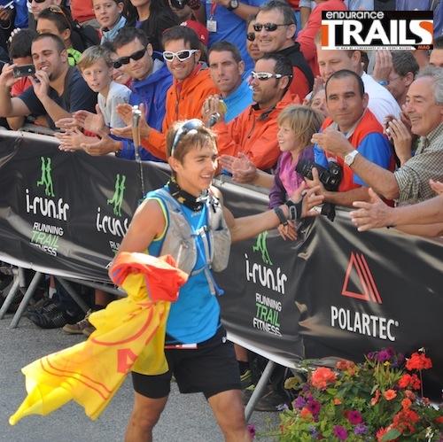 Xavier Thevenard - vainqueur de l'UTMB 2013