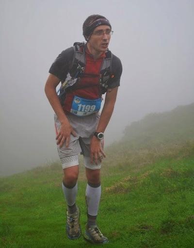 Martial Collomb - jeune talent du Trail