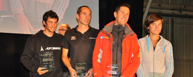 Julien Chorier, lauréat des Trophées du Trail 2011