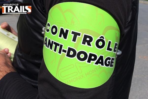 Contrôle anti-dopage dans le Trail