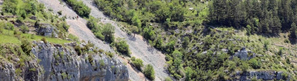 Lozere Trail 2014,  4 courses au programme