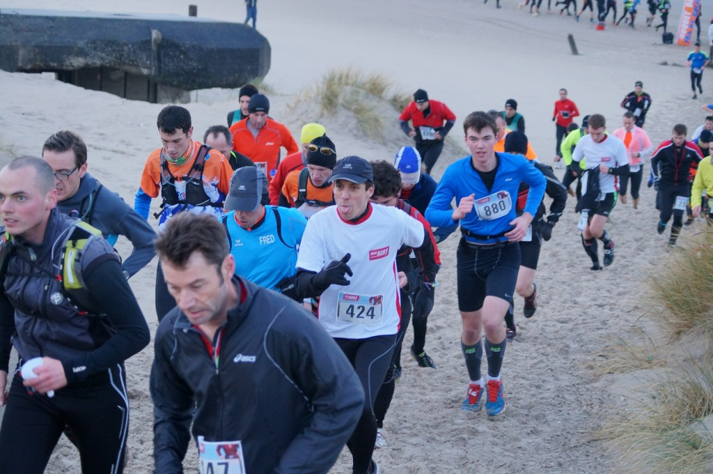 trail D2B 2014 - le peloton