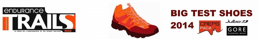 Test chaussures de Trail 2014