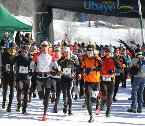 Snow trail Ubaye Salomon 2014
