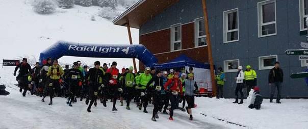 Depart Raidlight Wintertrail 2014