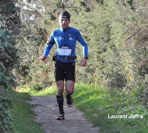Laurent Jaffre, vainqueur duTrail Glazig 2014