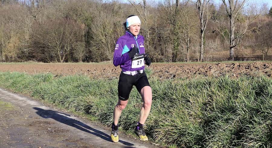Séverine Bovéro 2014 - Team Terre de Running / Mizuno