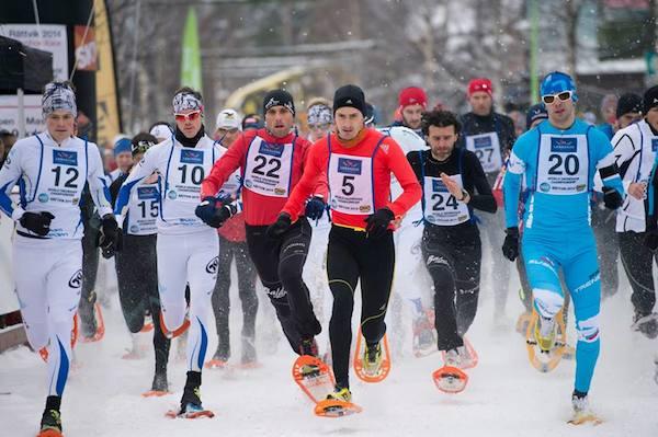 Stéphane Ricard - Champion du Monde de course en raquettes à neige