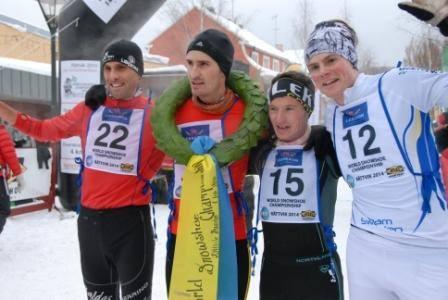Stéphane Ricard - Champion du Monde 2014 de course en raquettes à neige en Suède