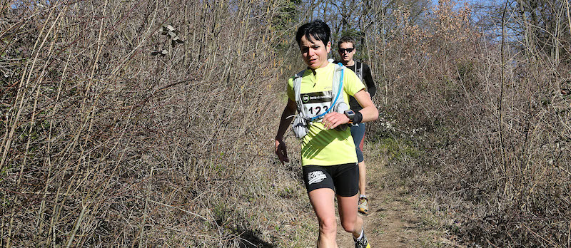 Pascale Botella - Trail des Cabornis 2014