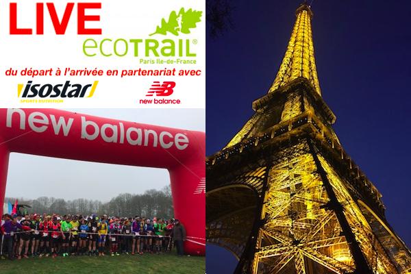 Suivi LIVE ecotrail de Paris 2018