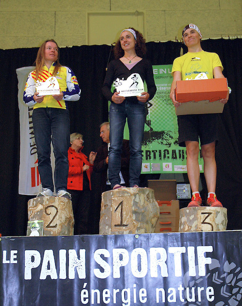 Verticausse-podium femmes 2014