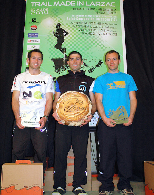 Verticausse-podium hommes 2014