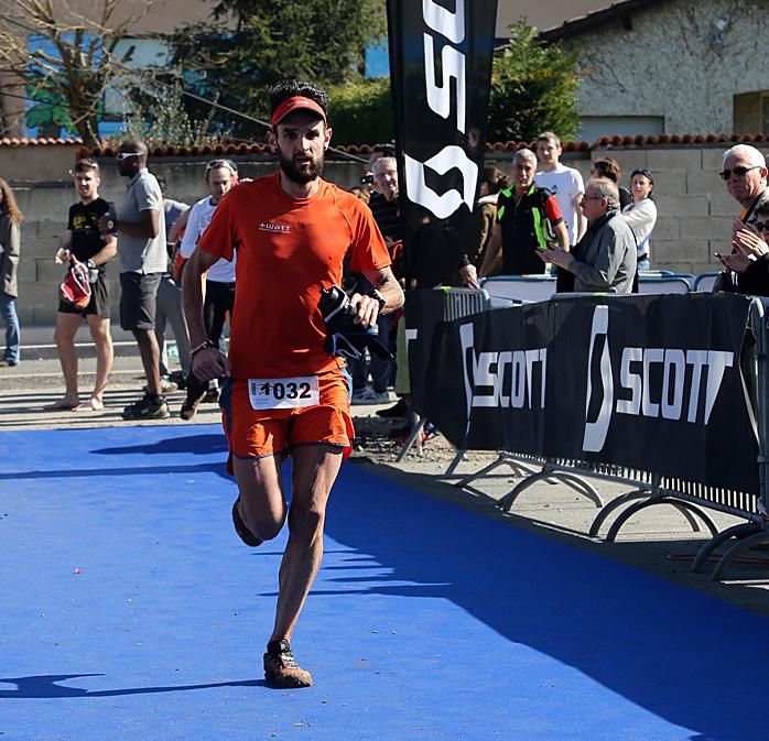 Yoann Stuck, vainqueur du Trail des Cabornis 2014