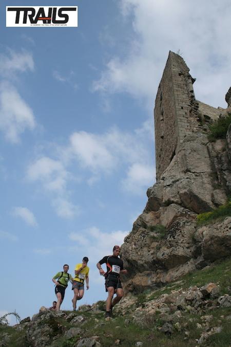 Trail de l'Ardechois, passage au château