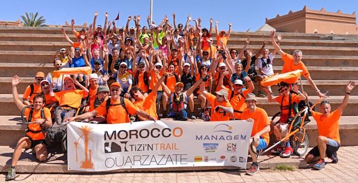 Les concurrents du Morocco Tizi N'Trail 2014
