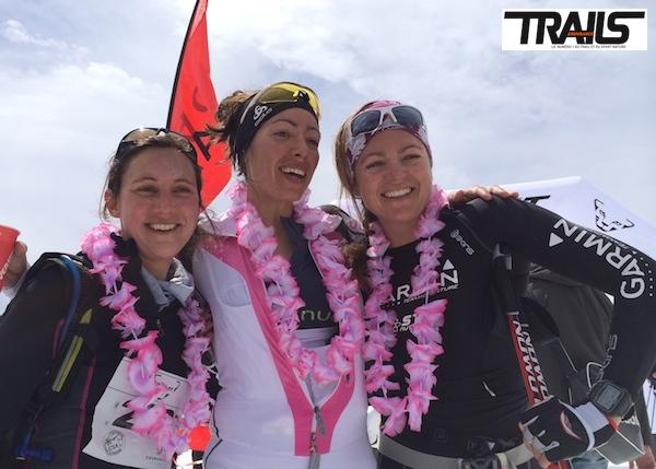M. Maneglia, Caro Freslon et M. Mathieu, le podium solo du X3 2014