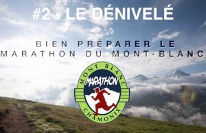 Préparer le marathon du Mont Blanc 2014 - le dénivelé