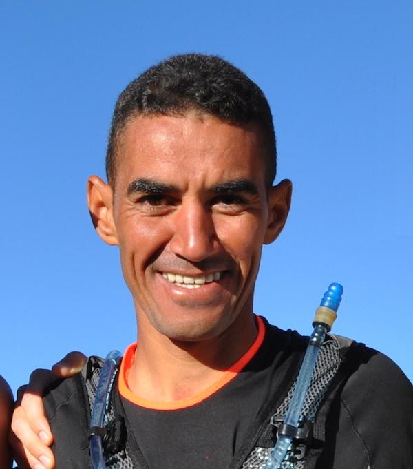 Rachid El Morabity, vainqueur du Marathon des Sables 2014