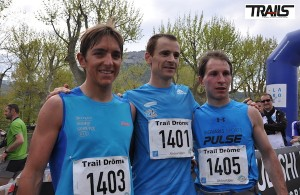 Trail Drome - podium 2014 du 38km