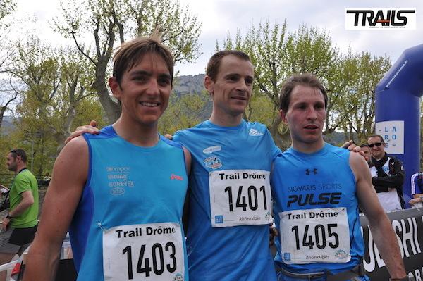 Trail Drome - podium 2014 du 38km
