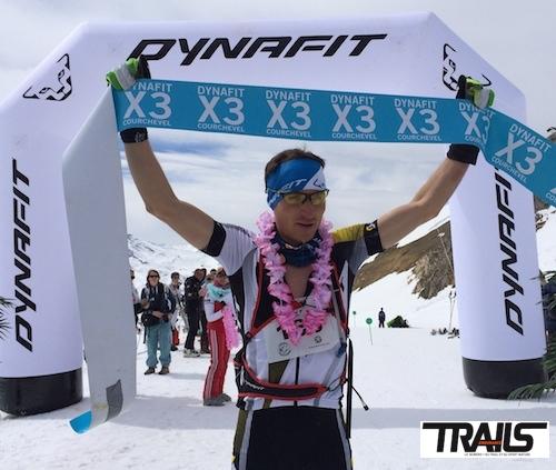 Yoann Sert - vainqueur en solo du X3 2014