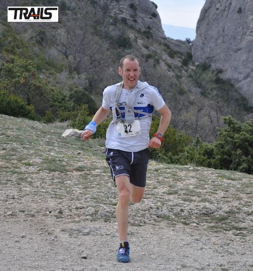Bertrand Brochot, vaiqnueur du 24km du Trail Drôme 2014