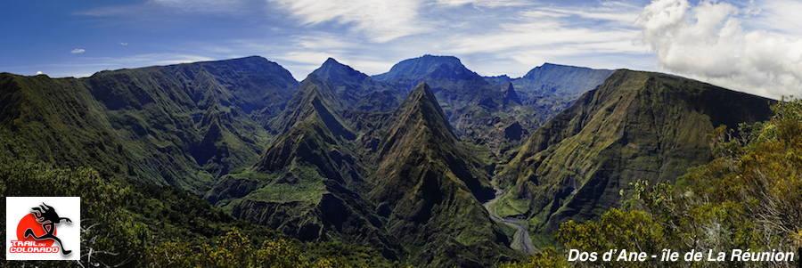 Dos D'ane, Trail du Colorado - ile de La Réunion