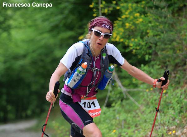 Francesca Canepa vainqueur du 105km