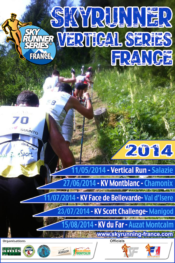 Kilometre Vertical Skyrunning France Series 2014