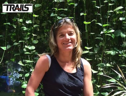 Maud Gobert au départ de La Transvulcania 2014